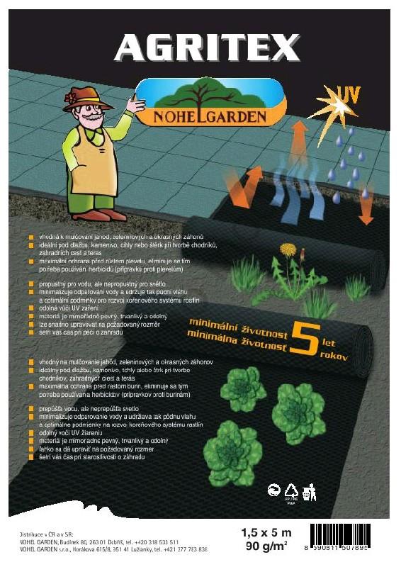 NOHEL GARDEN a.s. Tkaná mulčovací textilie 1.5x20m Agritex