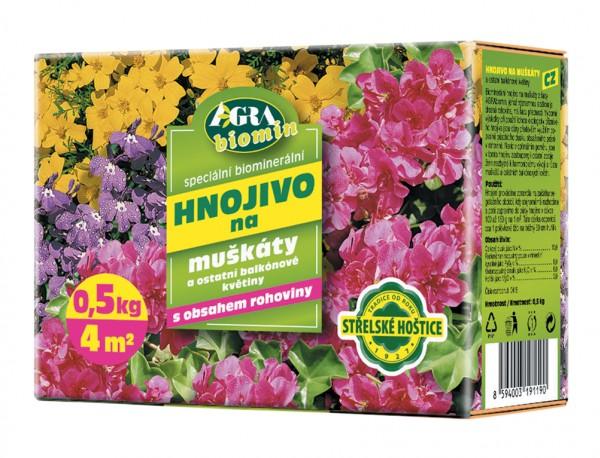Forestina Biomin hnojivo na MUŠKÁTY 0,5 kg 0035
