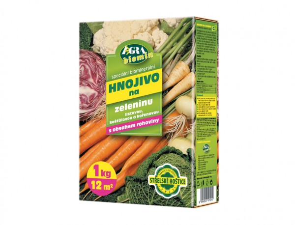 Forestina BIOMIN hnojivo na zeleninu 1 kg