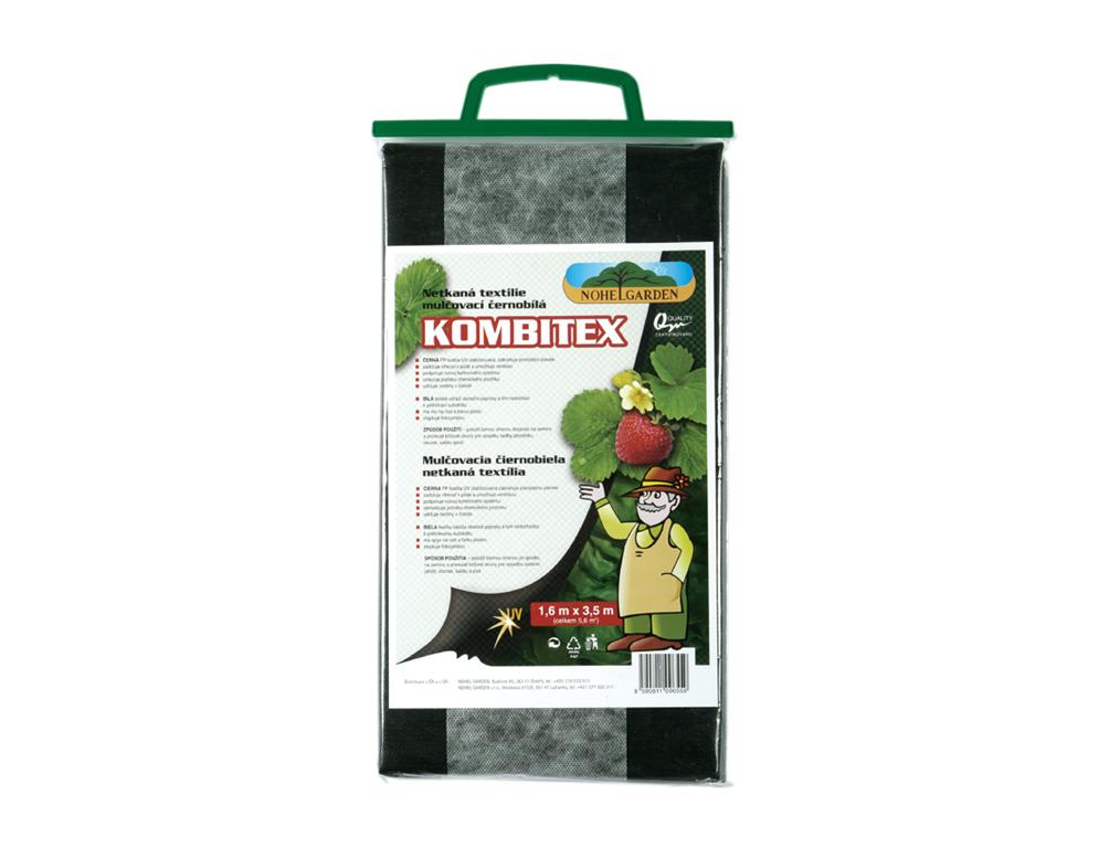 NOHEL GARDEN a.s. Kombitex 1.6x3.5m - kombinovaná černobílá mulčovací netkaná textilie