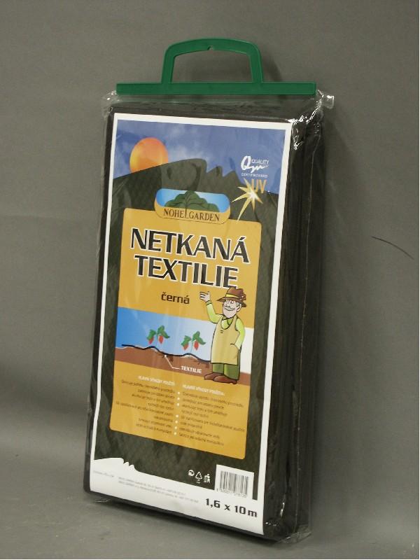 NOHEL GARDEN a.s. Netkaná mulčovací textilie 1.6x10m černá