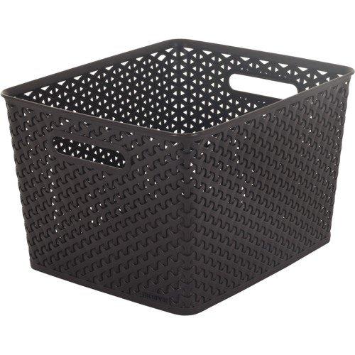 CURVER Úložný box RATTAN Y STYLE Square hnědý