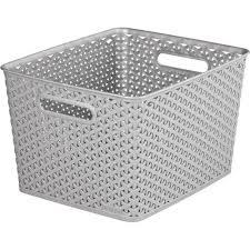 CURVER Úložný box RATTAN Y STYLE L krémový 03612-885