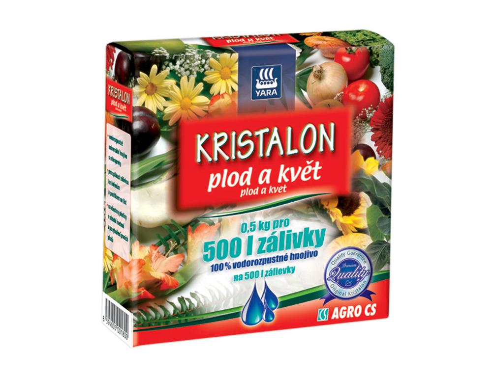 AGRO Hnojivo na PLOD A KVĚT 500 g Kristalon 0390