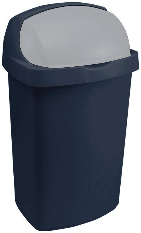 CURVER Koš odpadkový 10L ROLL TOP modrý (Curver 03974-266)