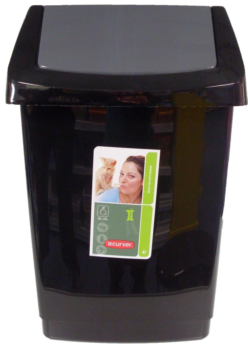 CURVER Koš odpadkový CLICK 9L - černý
