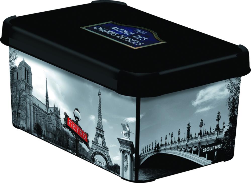 CURVER Box úložný dekorativní S PARIS