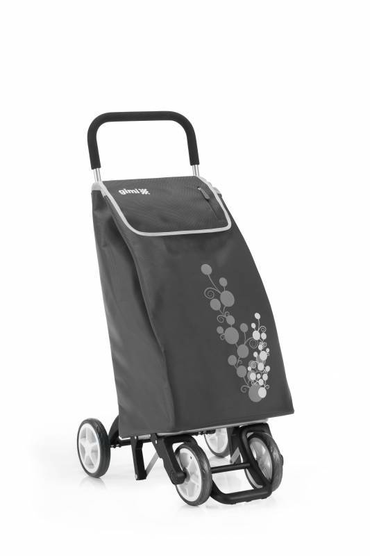 Gimi Gimi Twin šedý nákupní vozík 56l GIMI 154318