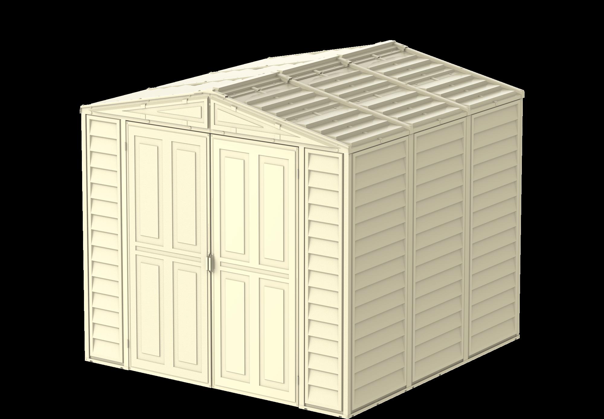 Duramax DuraMate 5,8 m², béžová - Zahradní domek + podlahová konstrukce (model 00384 8x8´)
