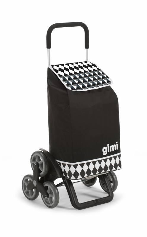 Gimi Gimi Tris Optical černý nákupní vozík 56l GIMI 154315