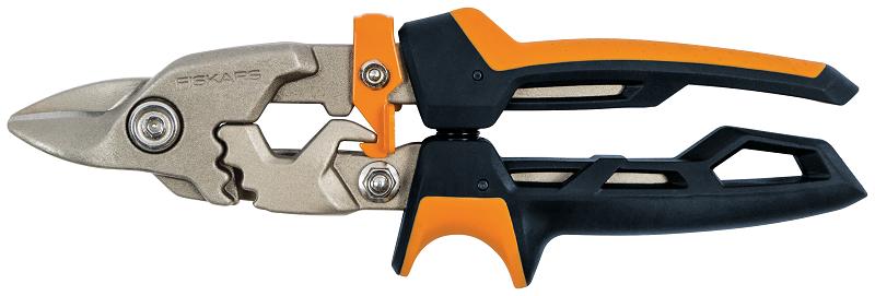 FISKARS PowerGear nůžky na plech krátké ostří Fiskars 1027212