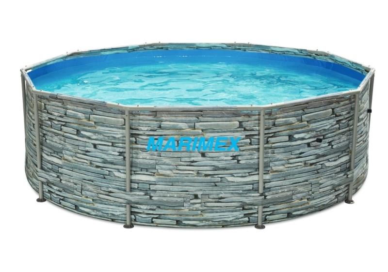 MARIMEX Bazén Florida 3,05 x 0,91 m bez filtrace motiv Kámen Marimex 10340245