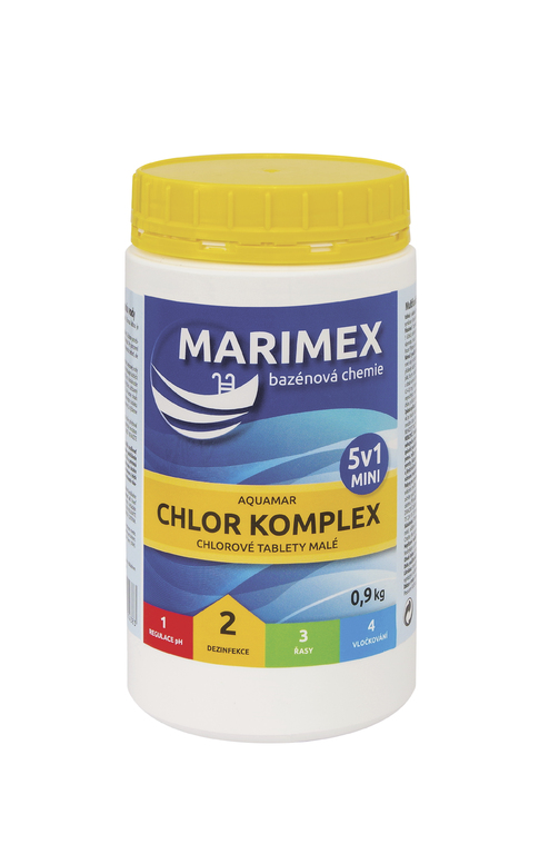MARIMEX Aquamar Komplex mini 5 v 1 0,9 kg Marimex 11301211