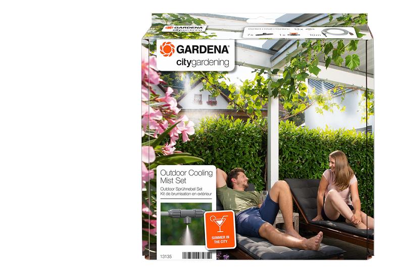 Gardena City gardening venkovní mlhovací hadice Automatic - sada Gardena 13137-20