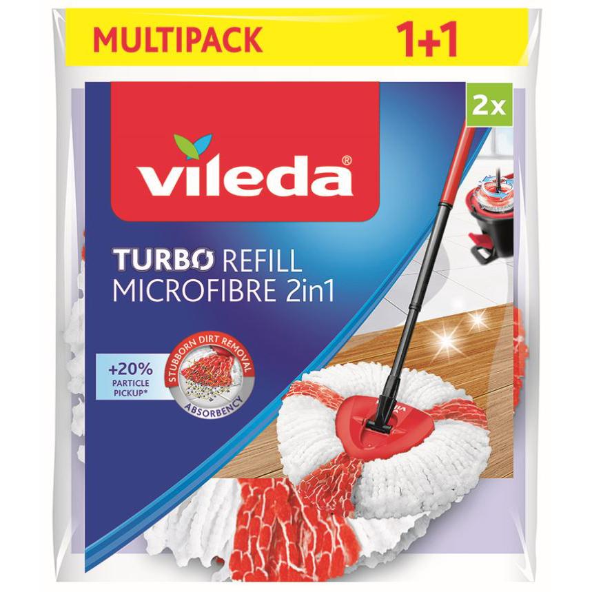 Vileda Easy Wring and Clean TURBO 2in1 náhrada 2 ks VILEDA 166142