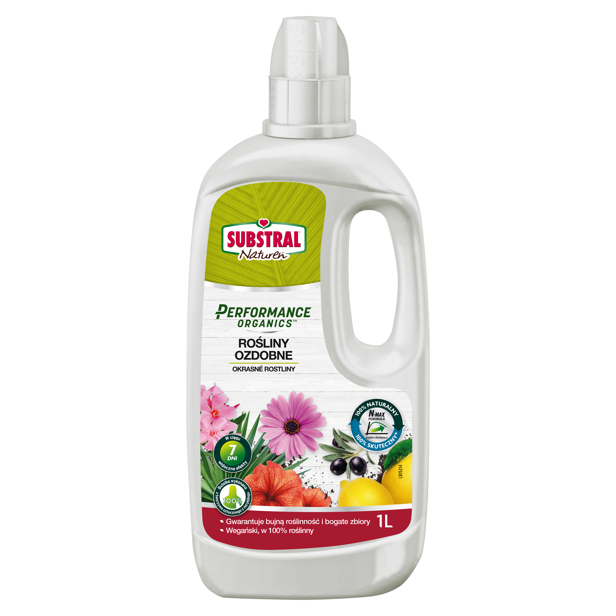 SUBSTRAL Performance Organics Hnojivo tekuté 1 l - zahrada SUBSTRAL 1713101OR
