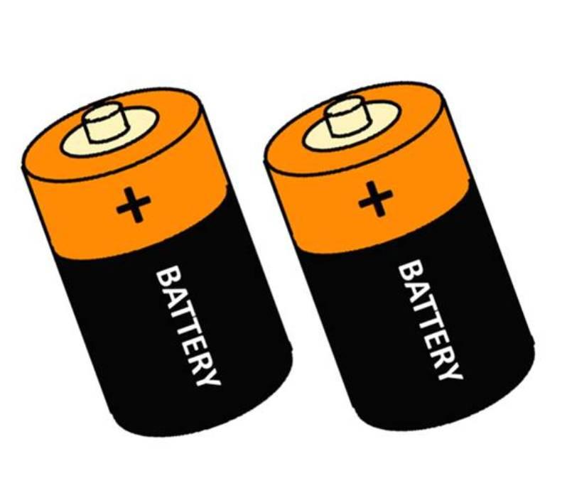 2 ks baterie 1,5 V typ LR14, C