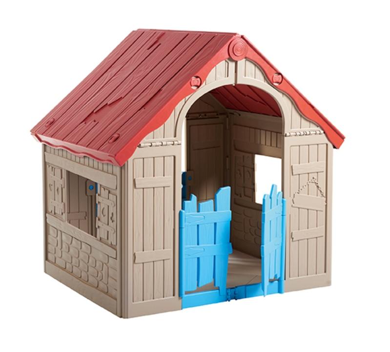 KETER Dětský domeček Foldable playhouse béžový - Keter 228444
