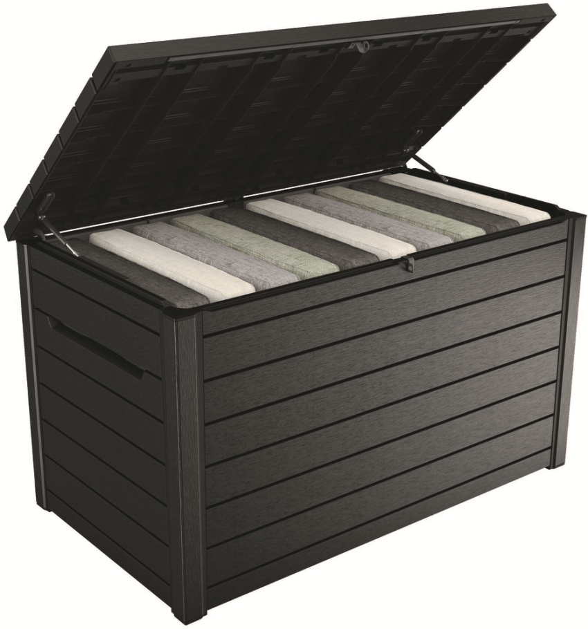 KETER Zahradní úložný box ONTARIO Box 870 l antracit, Keter 235690