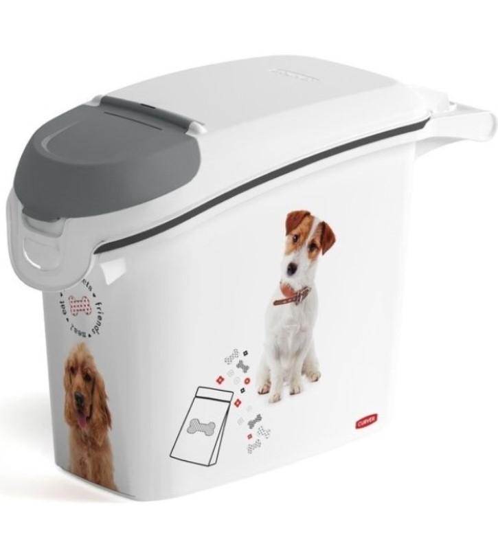 CURVER Kontejner na krmivo 6 kg - pets friends / DOG