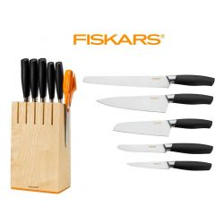 Blok s 5 noži Fiskars Functional Form PLUS 1016004