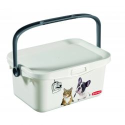 PETLIFE multibox, 26 x 11,5 x 17 cm, 3 l, bílá, 00363-C44