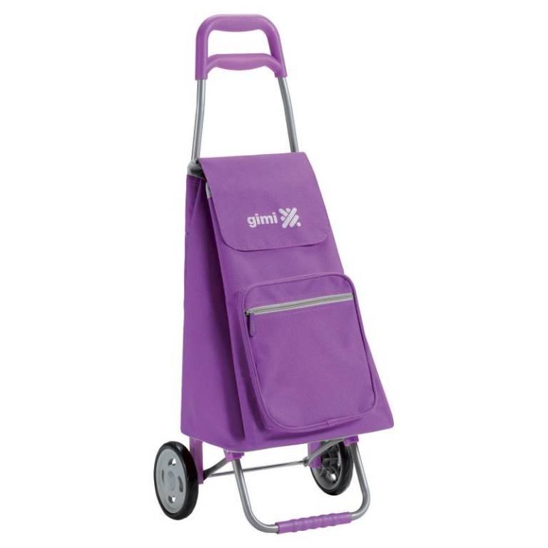 Gimi Gimi Argo fialový nákupní vozík 45l GIMI 154357