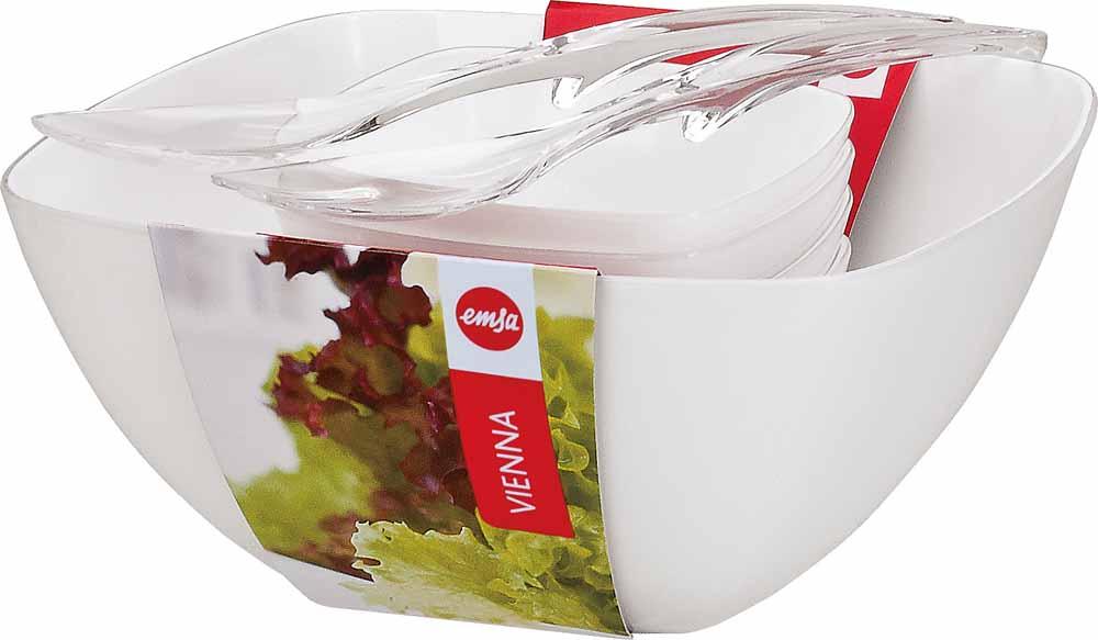EMSA Salátový set 6-ti dílný bílý Vienna Emsa 512766