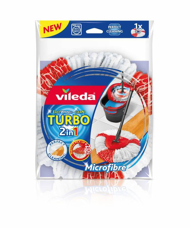 Vileda Easy Wring and Clean TURBO 2in1 náhrada VILEDA 151608