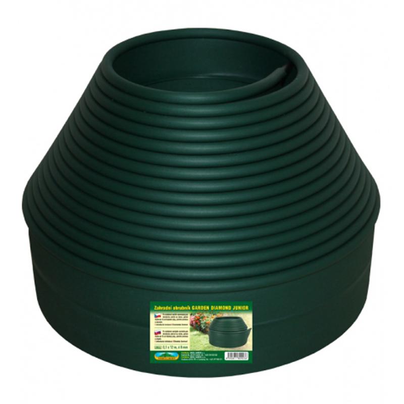 Nohel Garden Garden Diamond Junior Obruba d8mm 12 x 0,1 m - zelená 49044