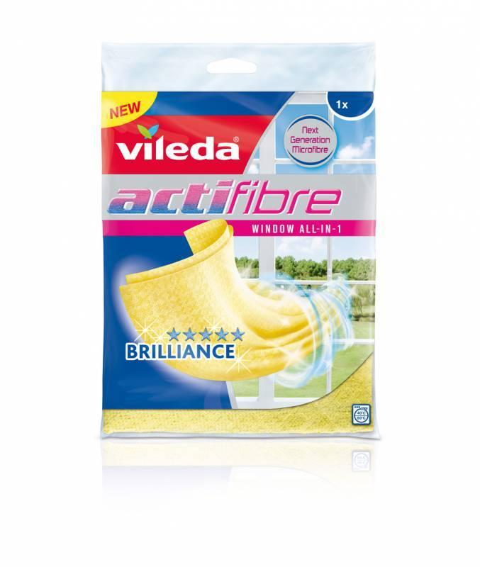 Vileda Actifibre mikrohadřík na okna 1 ks VILEDA 151708