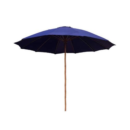 Happy Green Bambusový slunečník 300 cm - modrý