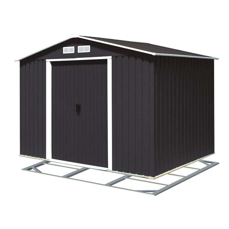 DURAMAX Titan ECO Zahradní domek 4,7 m² antracit + podlahová konstrukce DURAMAX 61151+57100