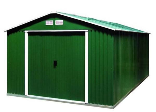 DURAMAX Zahradní domek Duramax COLOSSUS XXL 11,6 m2 - zelený