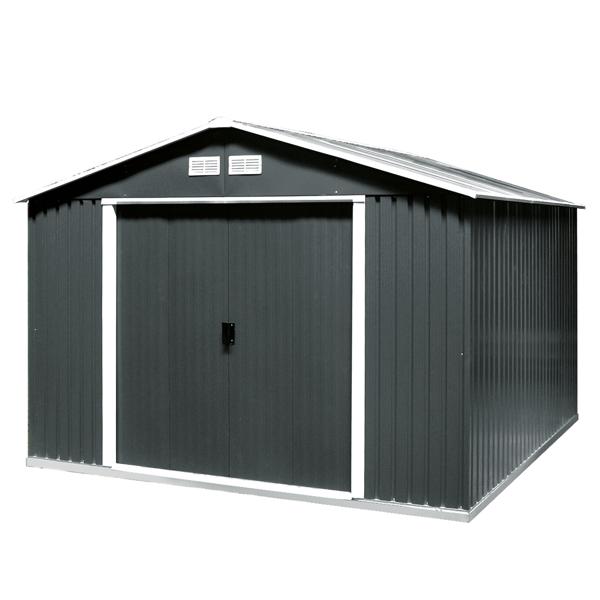 DURAMAX Zahradní domek Duramax COLOSSUS XL 9,7 m2 - antracit