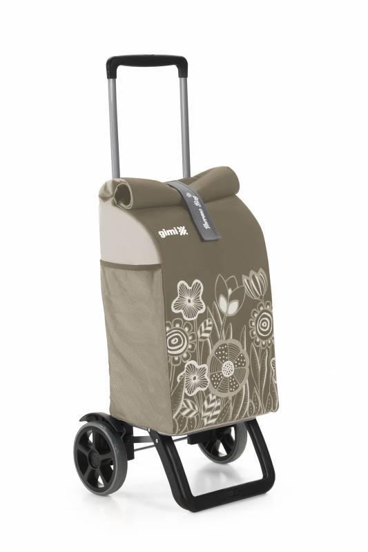 Gimi Gimi Rolling Thermo hnědý nákupní vozík 50l GIMI 154364