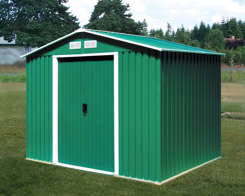 DURAMAX Zahradní domek Duramax TITAN 4,7 m2 - zelený