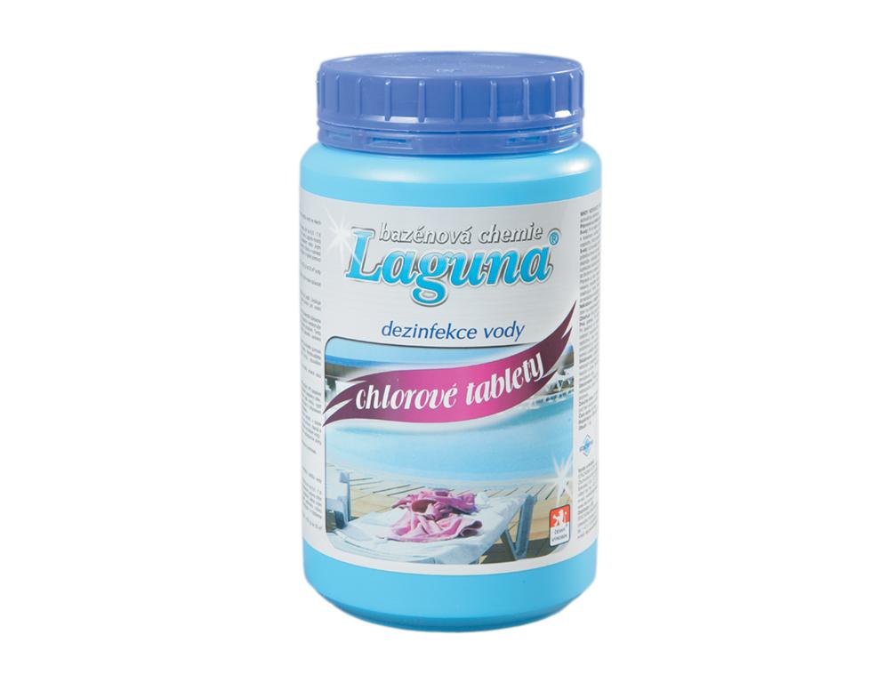 Laguna Laguna CHLOROVÉ TABLETY 1 kg - průběžná dezinfekce