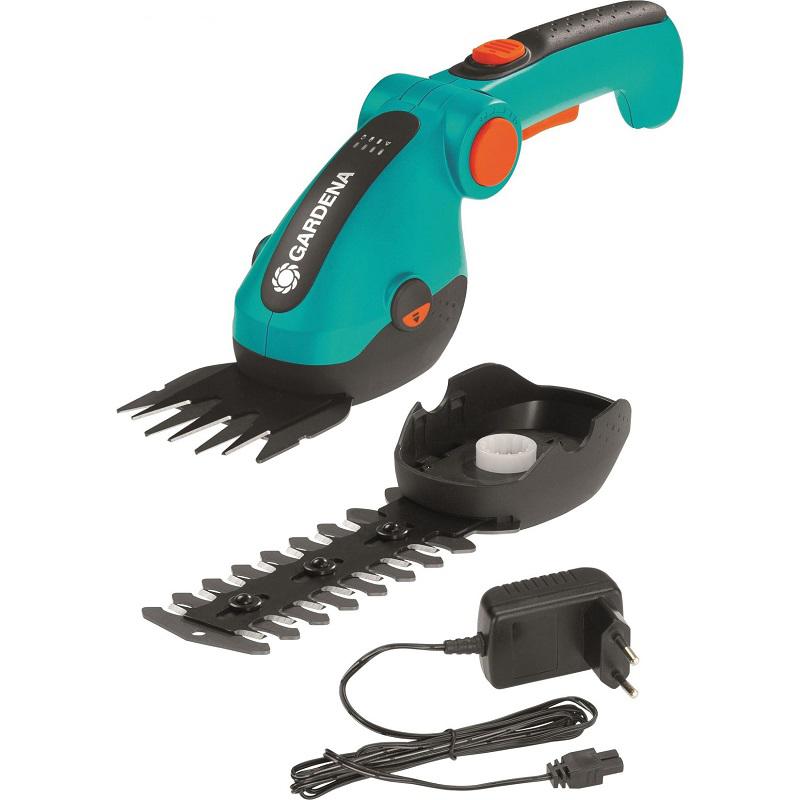Gardena ComfortCut akumulátorové nůžky na trávu a keře- sada Gardena 9857-20