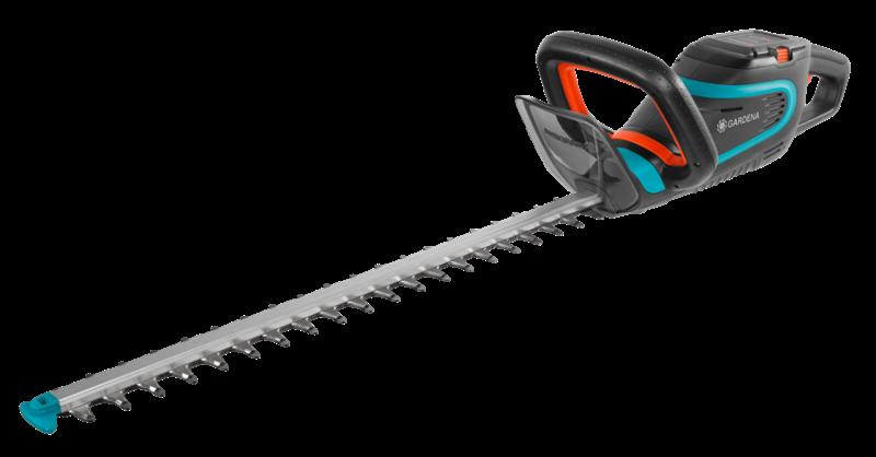 Gardena Akumulátorové nůžky na živý plot PowerCut Li-40/60 - sada Gardena 9860-20