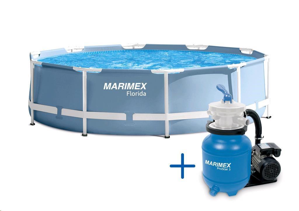 MARIMEX Bazén Florida 3,66 x 0,99 m s pískovou filtrací Marimex 10340201