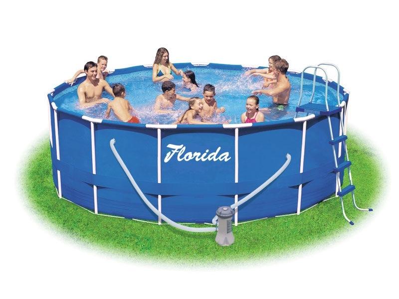 MARIMEX Bazén Florida 3,66x0,99 m s kartušovou filtrací a schůdky (Marimex 10340048)