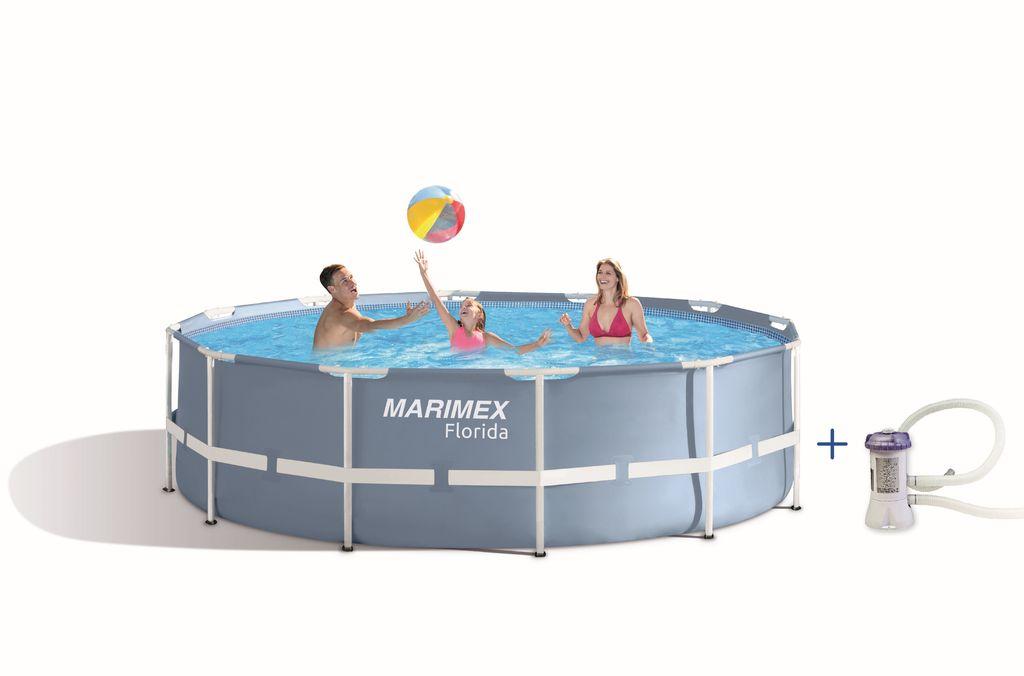 MARIMEX Bazén Florida Prism 3,66 x 0,99 m s kartušovou filtrací (Marimex 10340191)