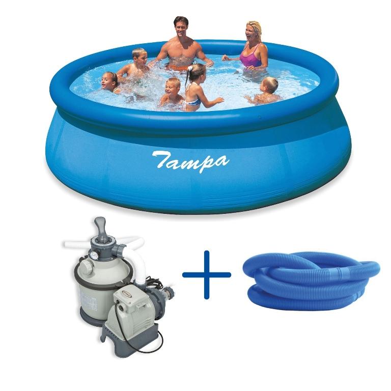 Marimex Bazén Tampa 3,66 x 0,91 m s pískovou filtrací Sand 4 (Marimex 10340126)