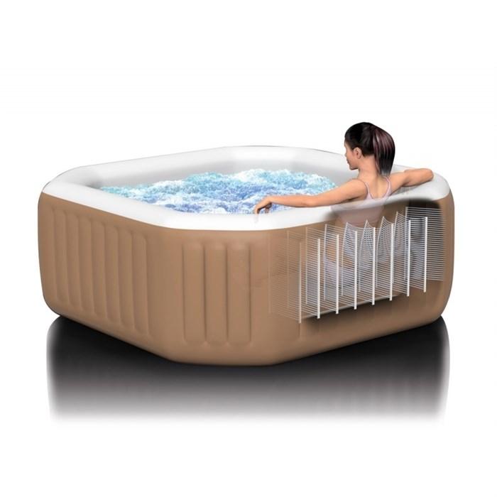 INTEX Bazén vířivý nafukovací Pure Spa - Bubble - čtverec (Marimex 11400221)