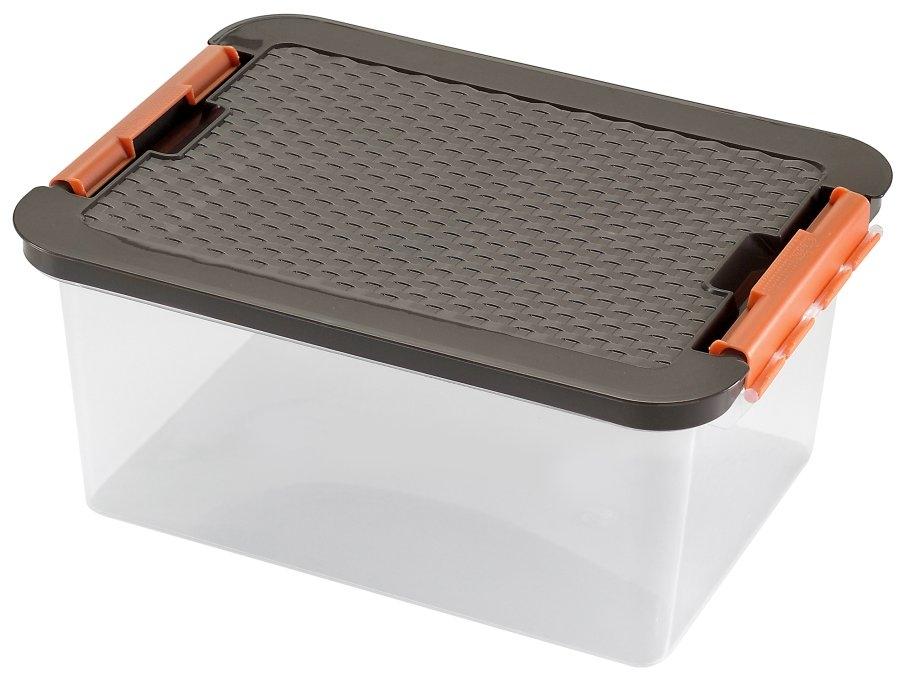 HEIDRUN Box CLIP 14L víko Rattan 4604