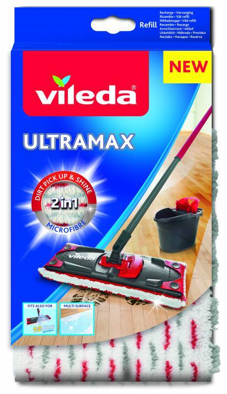 Vileda Ultramax mop náhrada Microfibre 2v1 VILEDA 155747