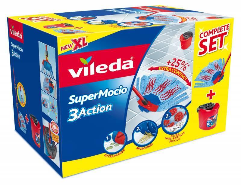 Vileda SuperMocio Completo 3 Action BOX VILEDA 151879
