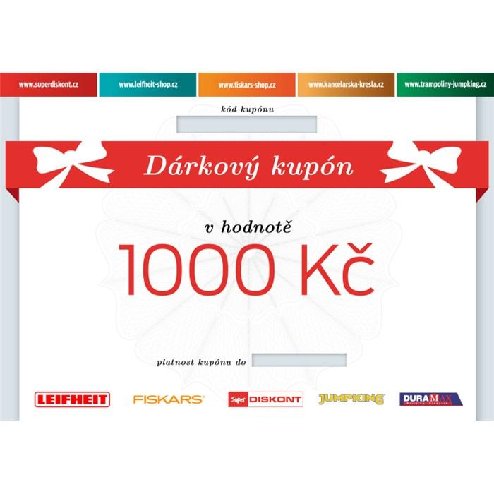 Superdiskont, s.r.o. Dárkový kupón 1000 Kč