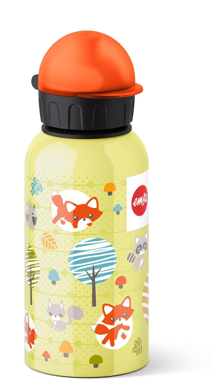 EMSA Dětská lahev na pití 0,4 l Fox KIDS FLASK Emsa